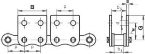 roller chain attachment m2.2